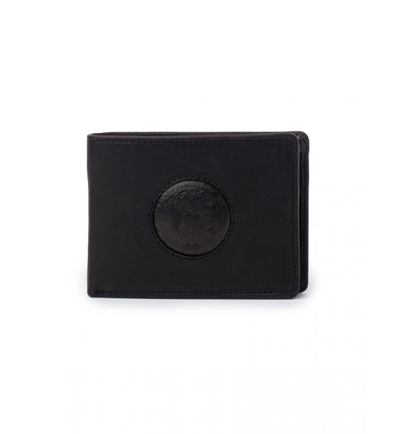 Comprar National Geographic Leather wallet Rain black -2x11x9cm