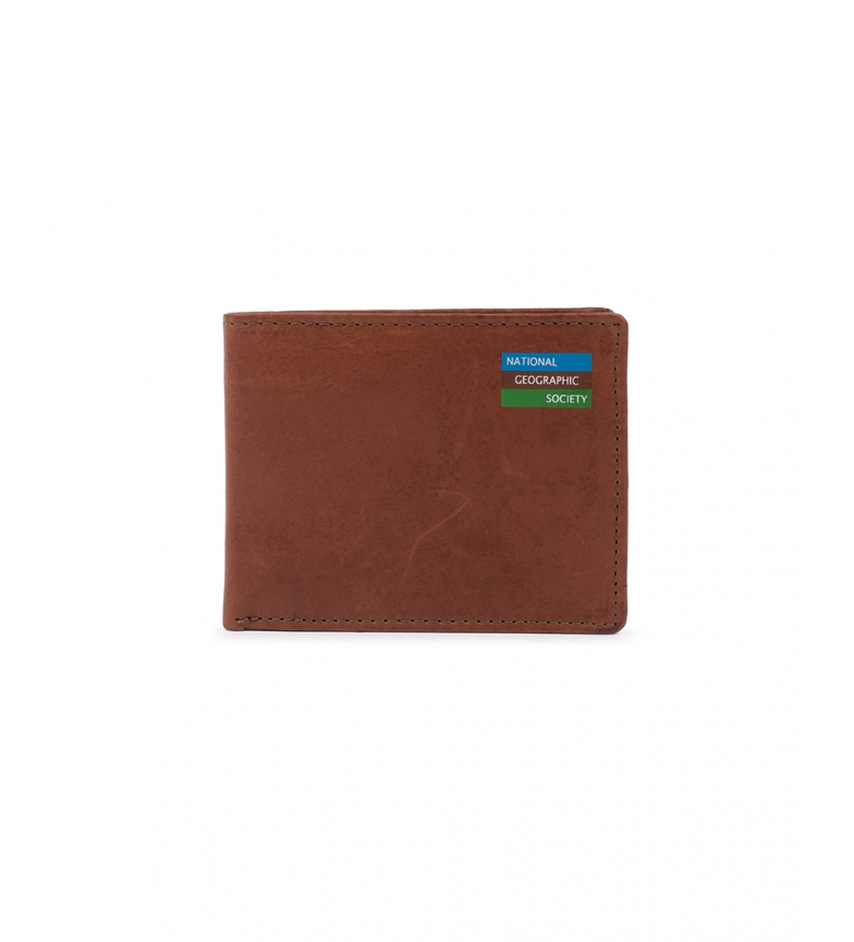 National Geographic Water Leather Wallet -2x10,5x8cm