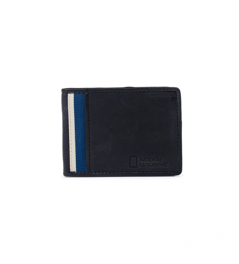 Comprar National Geographic Leather wallet Wind blue -2x10,5x8cm