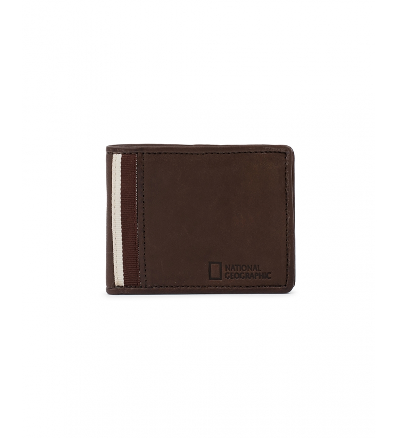 Comprar National Geographic Leather wallet Wind brown -2x11x9cm