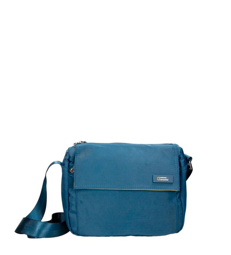 Comprar National Geographic Bandolera Academy  blue -27x12x20cm
