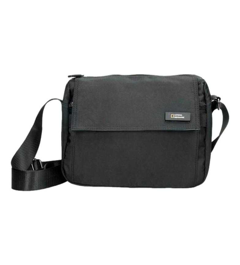 Comprar National Geographic Academy black shoulder strap -27x12x20cm