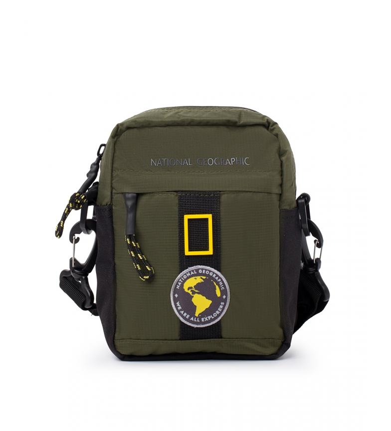 Comprar National Geographic Novo saco de ombro cáqui Explorer -14,5x7,5x19cm