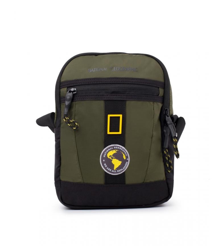 Comprar National Geographic Novo saco de ombro cáqui Explorer -18x8x25cm