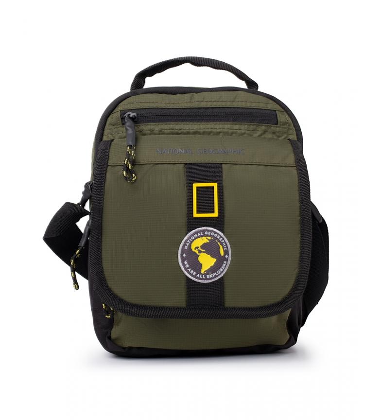 National Geographic Nuova borsa a tracolla Explorer in cachi -19x12x25cm