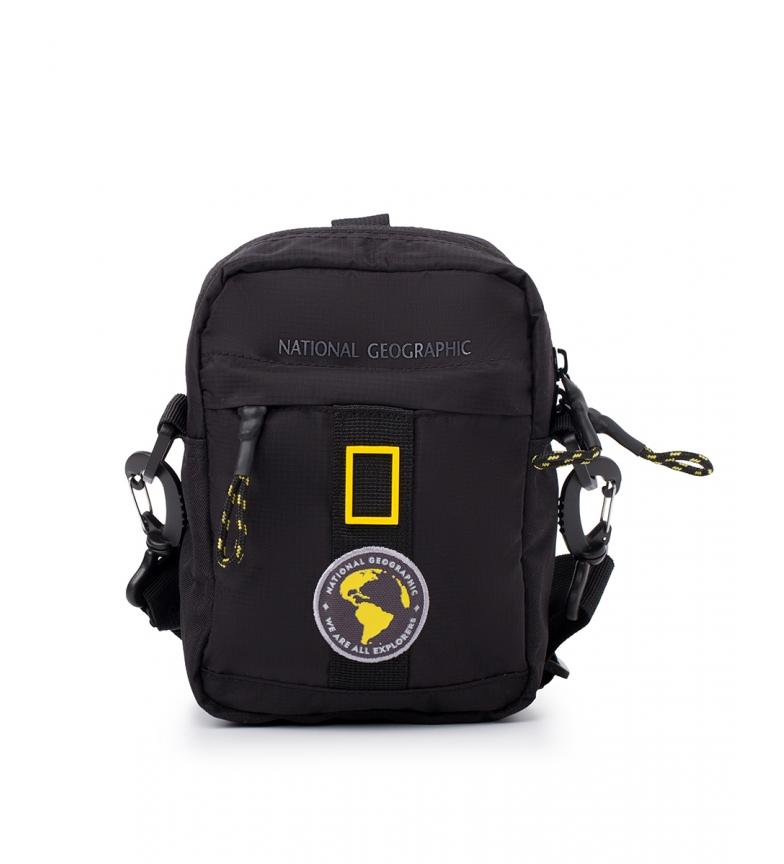 Comprar National Geographic Borsa a tracolla New Explorer nera -14,5x7,5x19cm