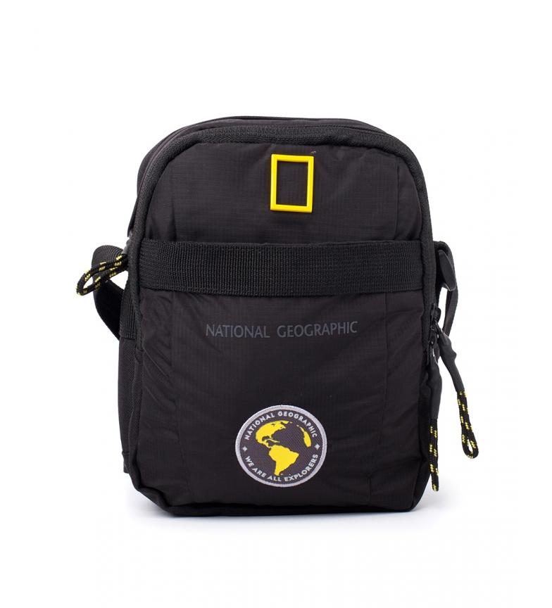 Comprar National Geographic Novo saco de ombro Explorer preto -16x9x21cm