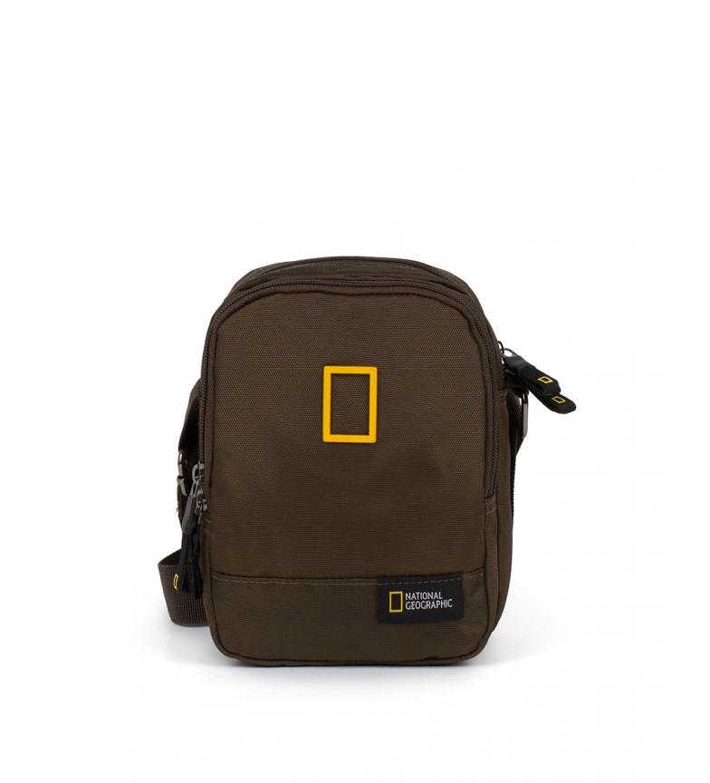 Comprar National Geographic Recuperação saco de ombro cáqui -16,5x8,5x21cm