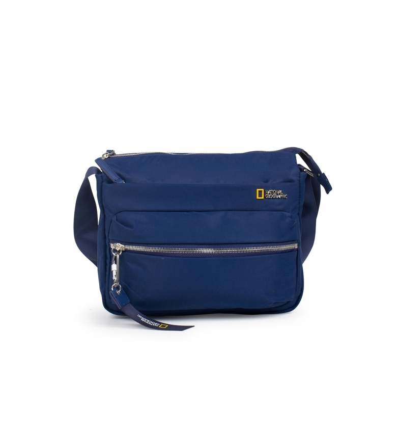 Comprar National Geographic Research bag blue -26x8x22cm