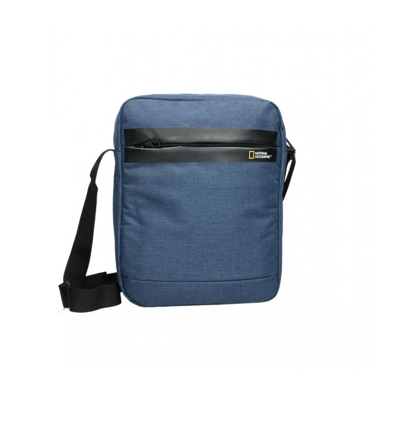 Comprar National Geographic Stream blue shoulder strap 27,5X8X34