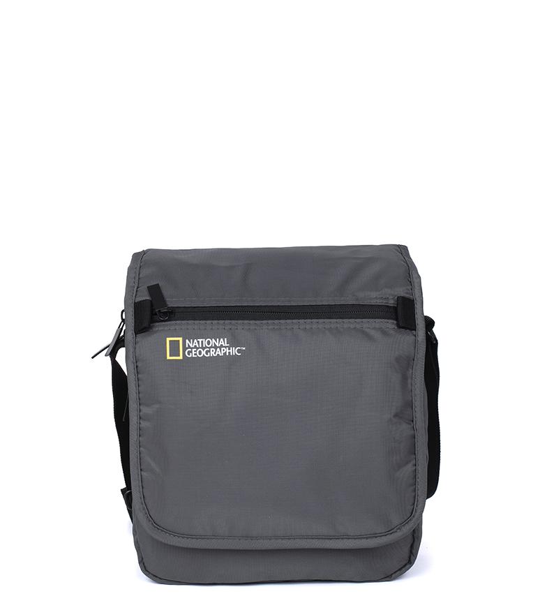 Comprar National Geographic Bolso Transform gris -24x10x27cm-
