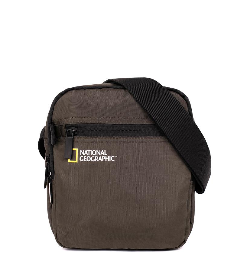 Comprar National Geographic Bolso Transform caqui -18x7,5x21cm-