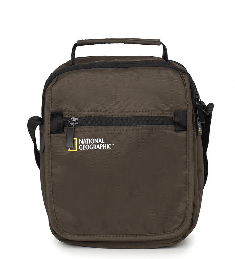 Comprar National Geographic Bolso Transform caqui -19x11,5x24cm-
