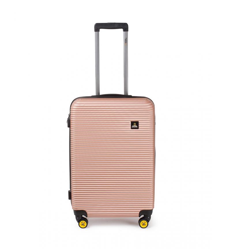 Comprar National Geographic Maleta mediana Abroad rosa -46x27x67cm-