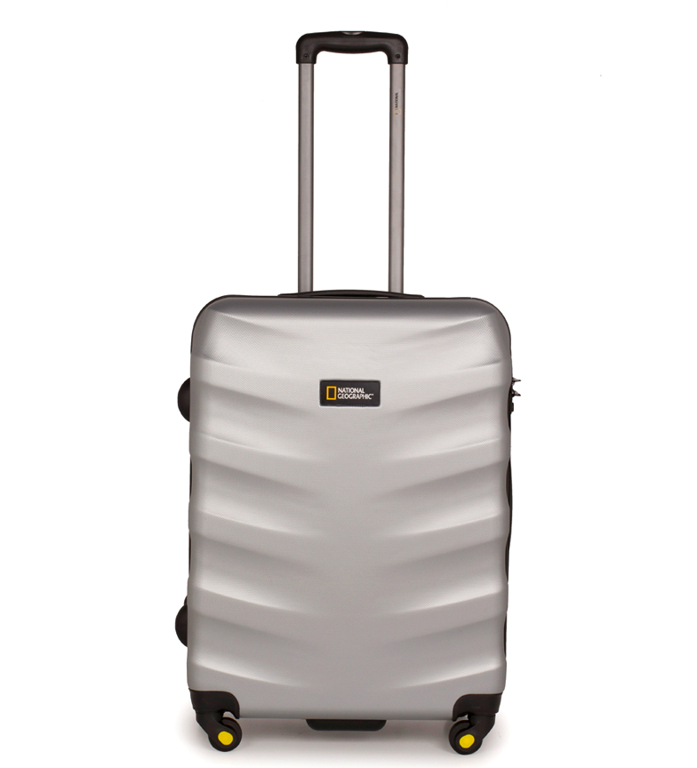 Comprar National Geographic Silver Earring Medium Suitcase 48X27X67Cm