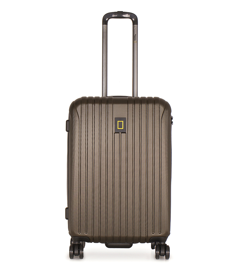 Comprar National Geographic Khaki Track Medium Suitcase 44X27X67Cm