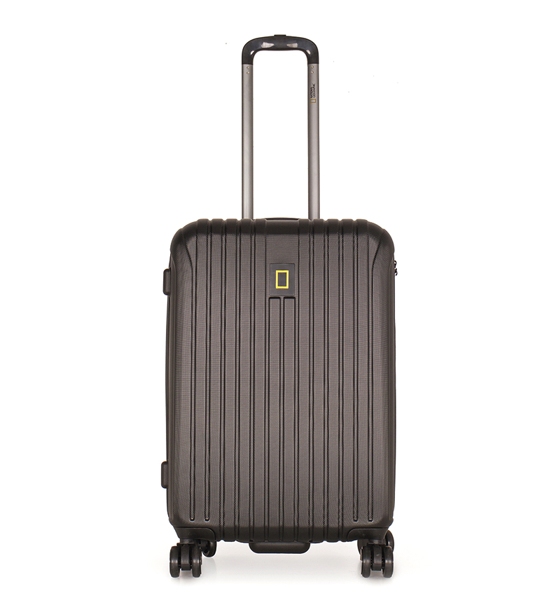 Comprar National Geographic Suitcase Medium Track Black 44X27X67Cm