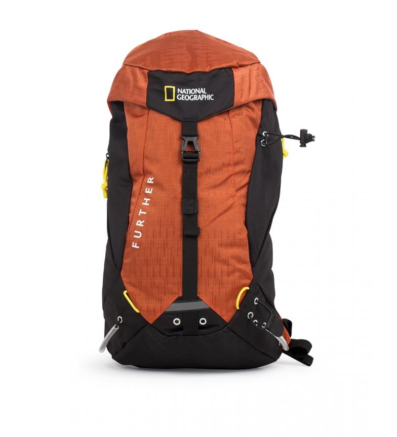 Comprar National Geographic Destinazione zaino arancione -24x15x38cm