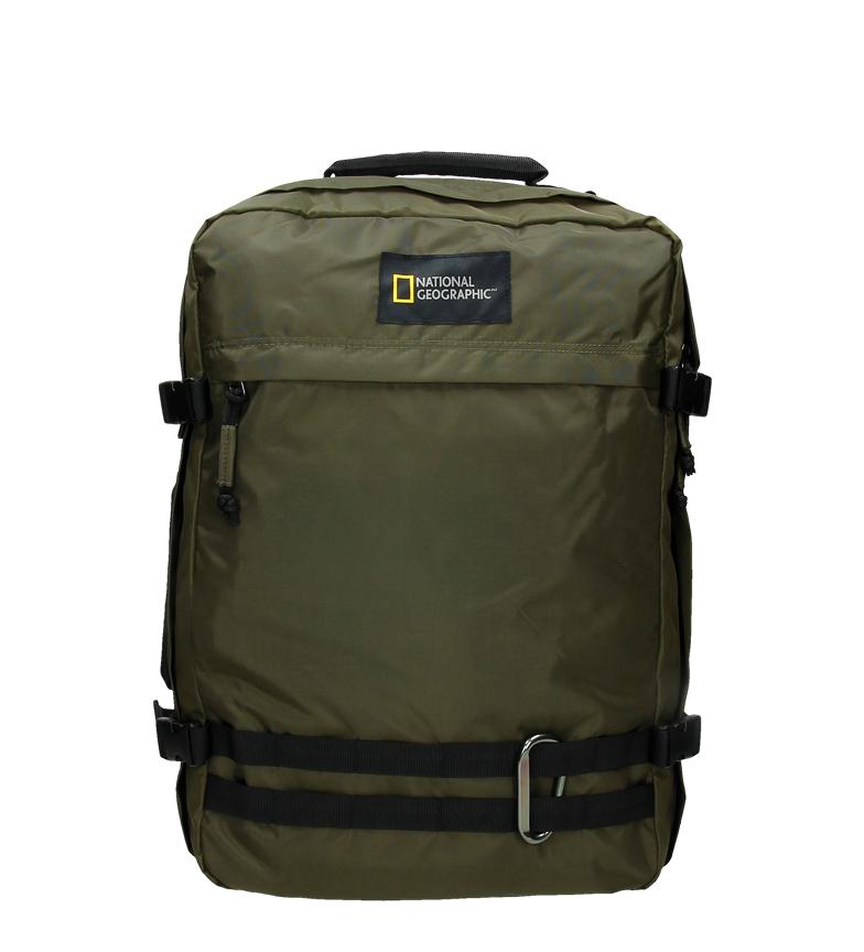 Comprar National Geographic Zaino Suitcase Hybrid Khaki 34X18X50Cm