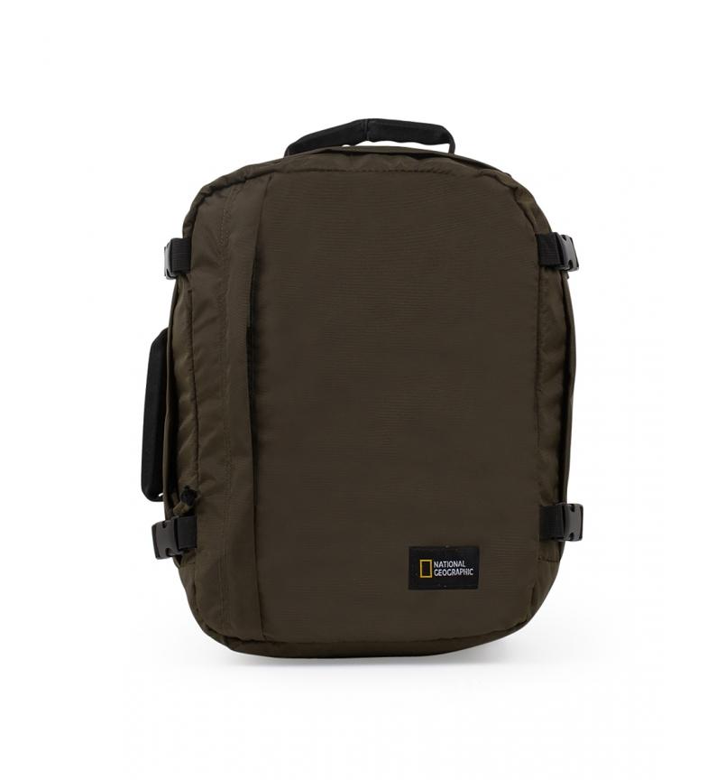 Comprar National Geographic Hybrid khaki backpack -29,5x20x40cm