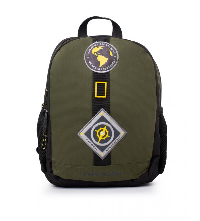 National Geographic Nova mochila Explorer em cáqui -25,5x15x32,5cm
