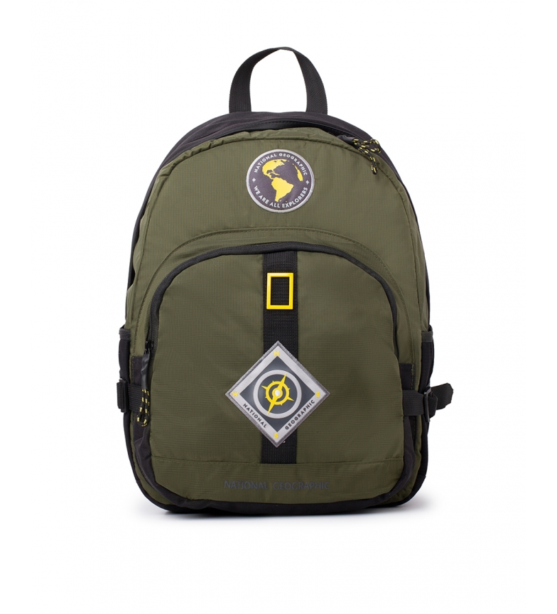 Comprar National Geographic Mochila New Explorer caqui -31x15x40cm-