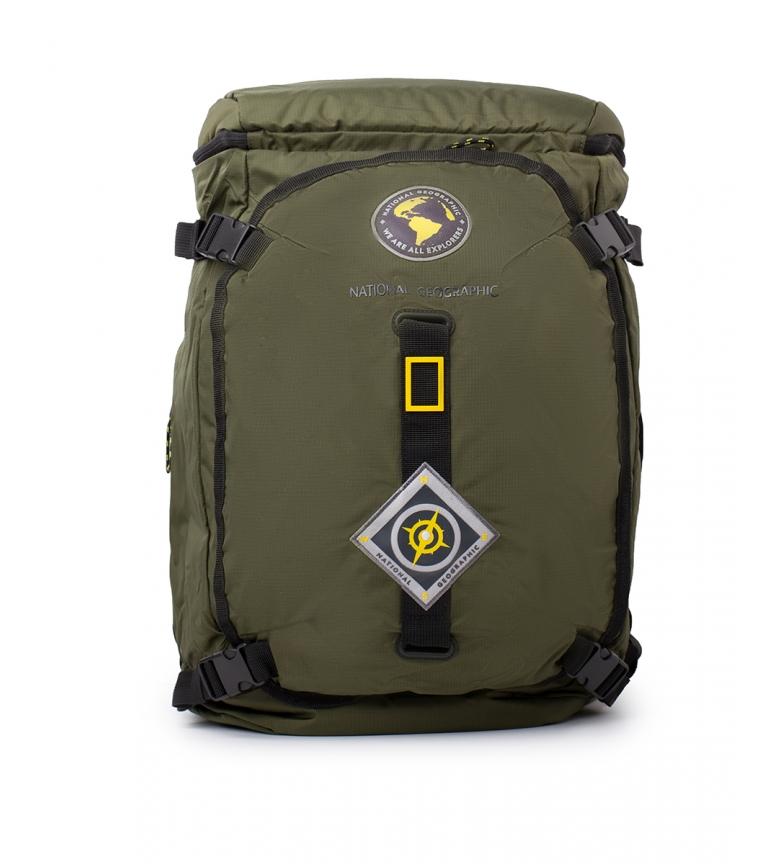 National Geographic Mochila New Explorer caqui -33x23x55cm-