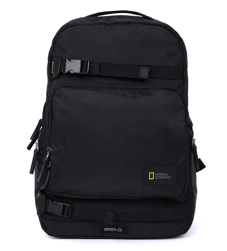 Comprar National Geographic Backpack Rotor Black 31,5X18X47,5Cm