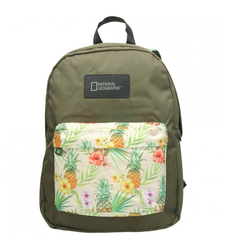 Comprar National Geographic Scale backpack green, white -32x20X42,5cm-