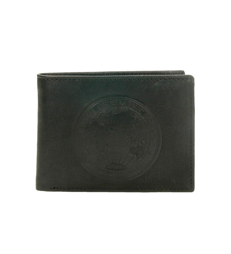 Comprar National Geographic Carteira de couro preta Moscow -2x10,5x8 cm