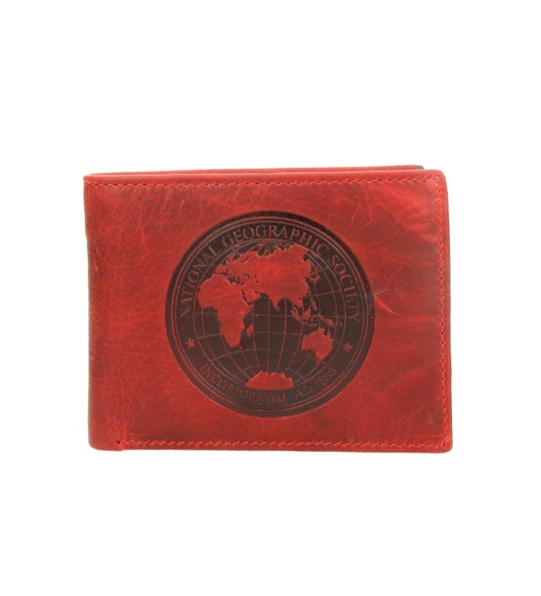 Comprar National Geographic Cuir rouge Moscou billfold -2x10,5x8 cm-