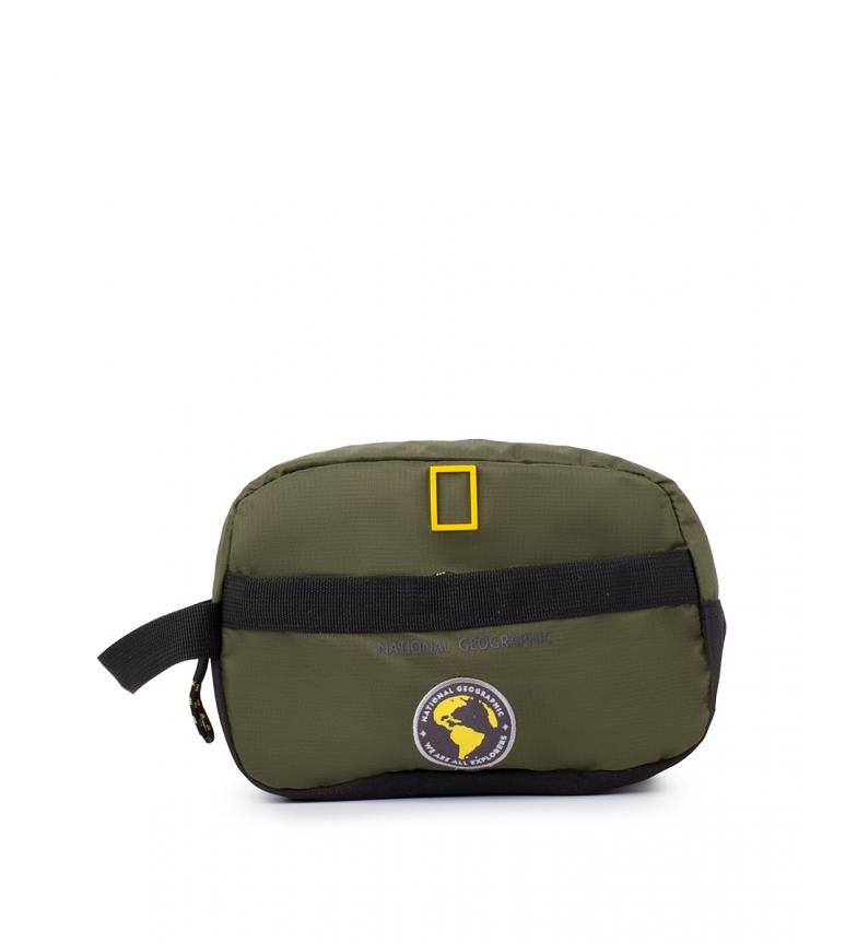 Comprar National Geographic Novo Saco de Sanita Khaki Explorer -23x15x10cm