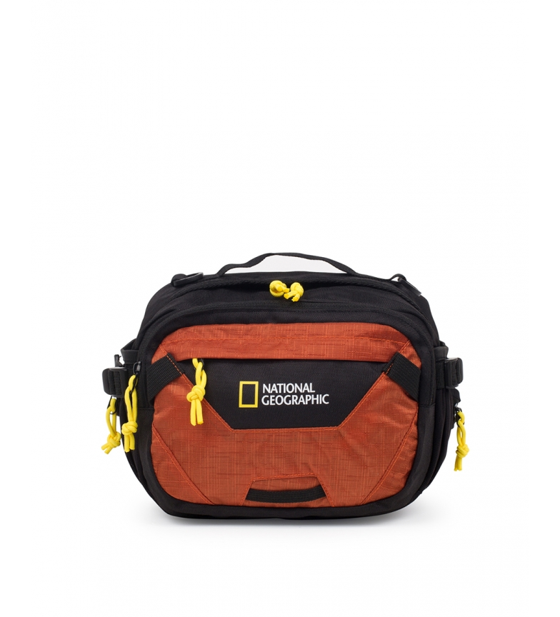 Comprar National Geographic Riñonera Destination naranja -24x15x20cm-