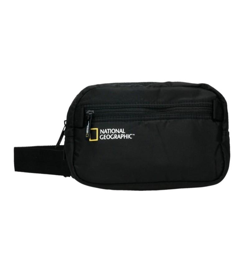 Comprar National Geographic Transformar saco Bum Black 21X8,5X14 Cm
