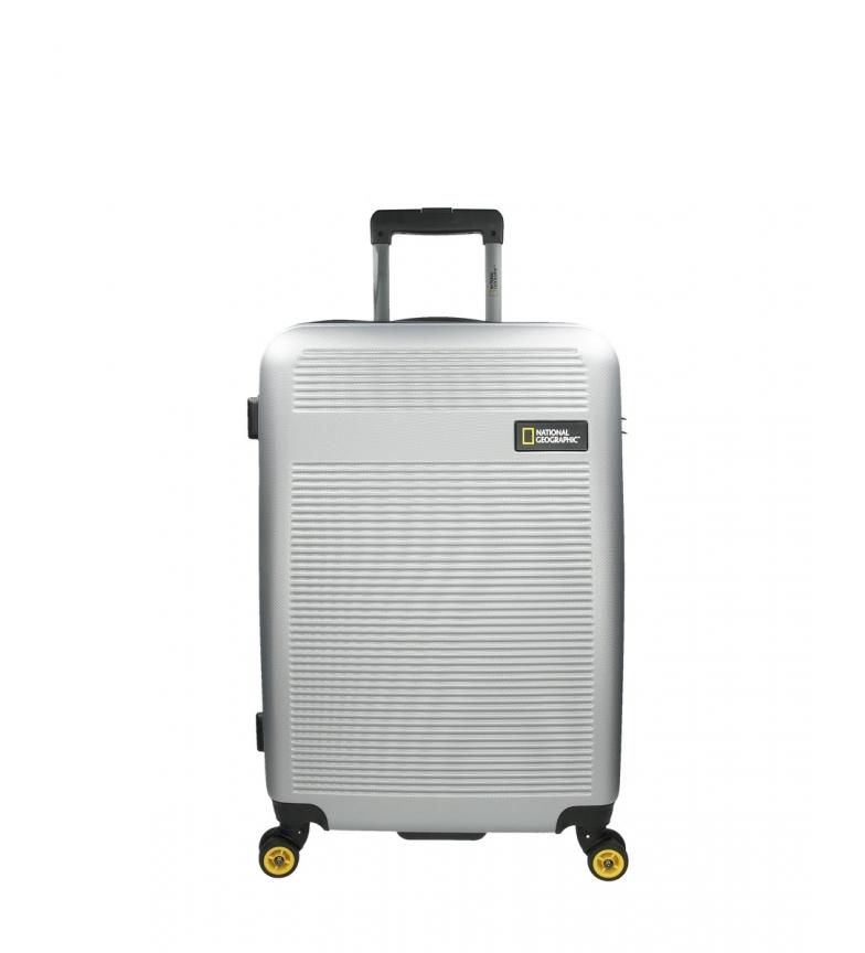 Comprar National Geographic Carrello medio Aerodrome argento -46x27x67cm-