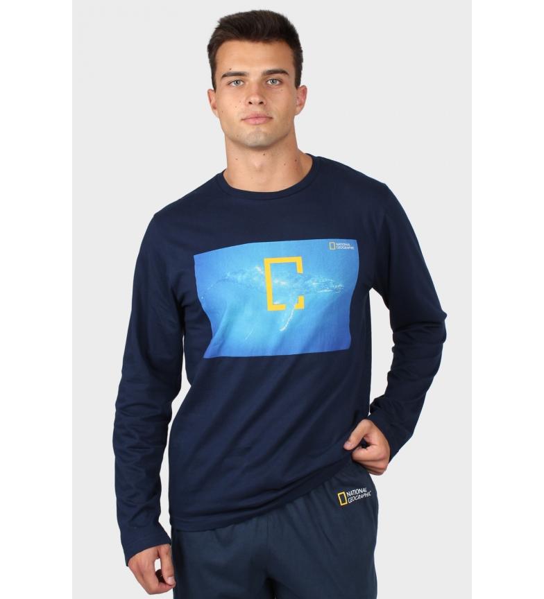 Comprar National Geographic T-Shirt a maniche lunghe Ocean Ocean