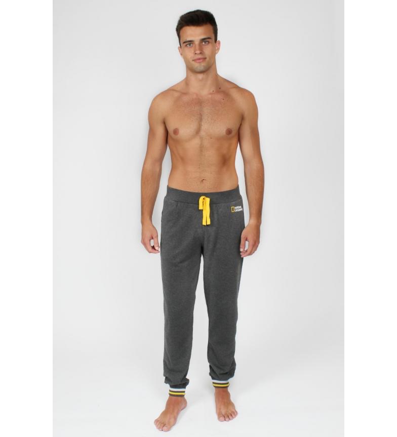 Comprar National Geographic NATIONAL GEOGRAPHIC NG Pantalon long avec logo NG pour hommes