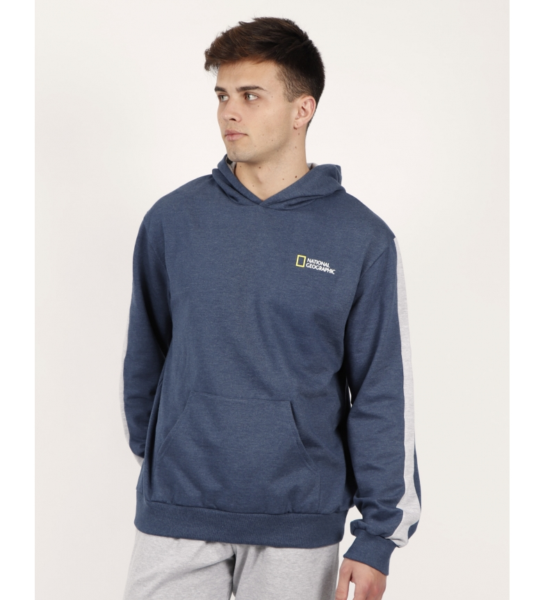 Comprar National Geographic Long sleeve blue logo sweatshirt