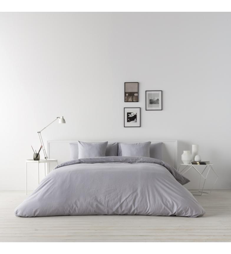 Comprar Naturals Enveloppe de couette Lin gris -Lit 135cm