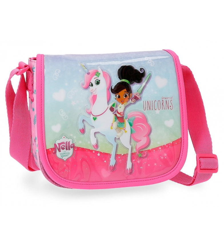 Comprar Nella Bolsa de ombro Nella Unicorn com aba -15x17x4 cm-