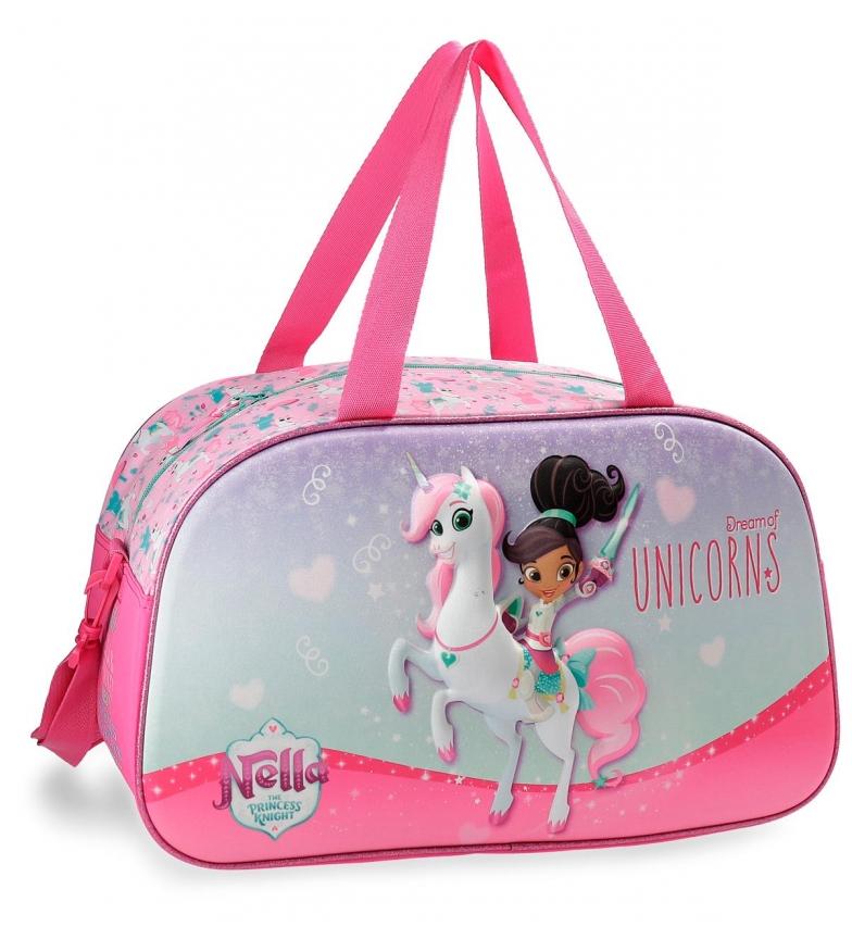 Comprar Nella Sac de voyage Nella Unicorn 44cm 3D frontal -25x44x22 cm-