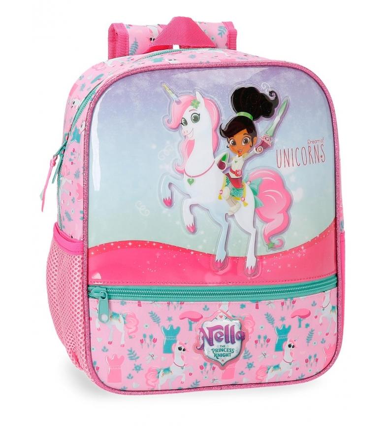 Comprar Nella Mochila Preescolar Nella Unicorns 28cm -28x23x10 cm-