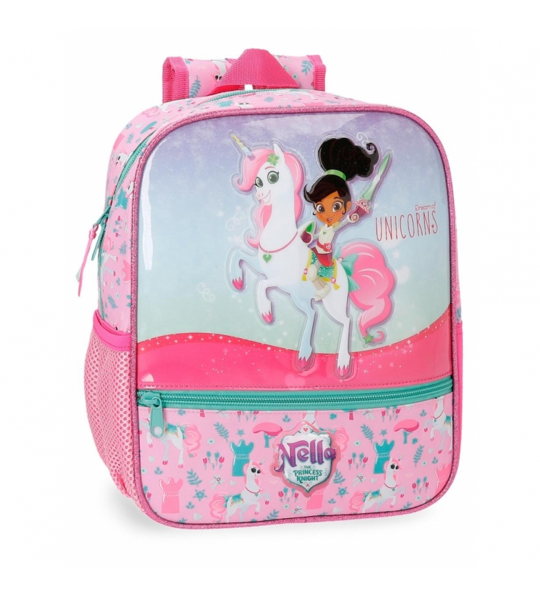 Comprar Nella Mochila Preescolar Nella Unicorns -28x23x10cm- adaptable a carro