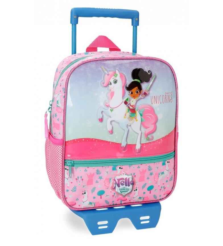 Comprar Nella Nella Unicorns Mochila Pré-escolar 28cm com carrinho -28x23x10 cm-