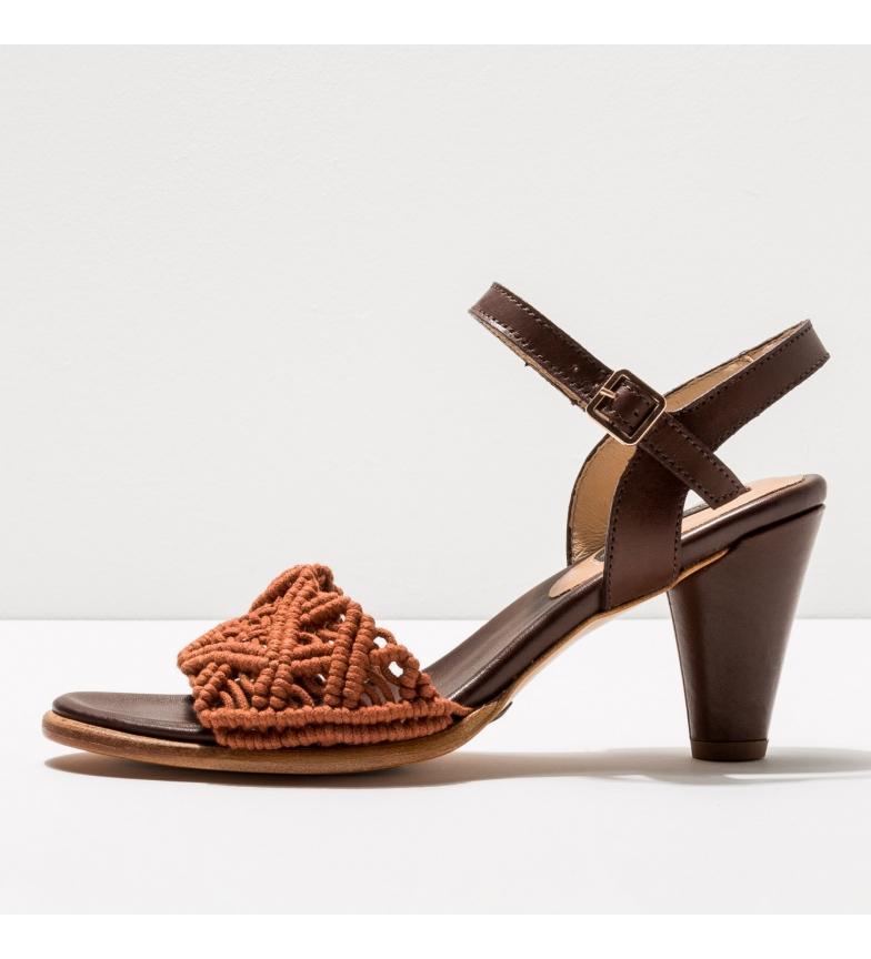 Comprar NEOSENS Sandales en cuir S036 Montua brown -Hauteur du talon : 7,5cm- -Hauteur du talon : 7,5cm- -Sandales en cuir S036 Montua brown
