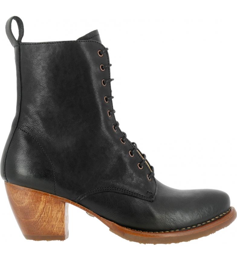 Comprar NEOSENS Stivaletti Munson in pelle S3097 nero - Altezza tacco: 5,5 cm