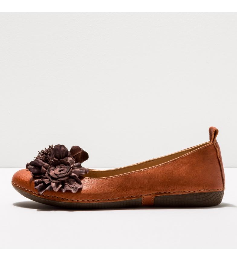 Comprar NEOSENS Brown leather ballet pumps S3117