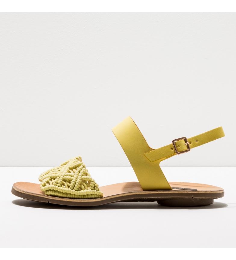 Comprar NEOSENS Sandálias de couro S3126 amarelo Daphni