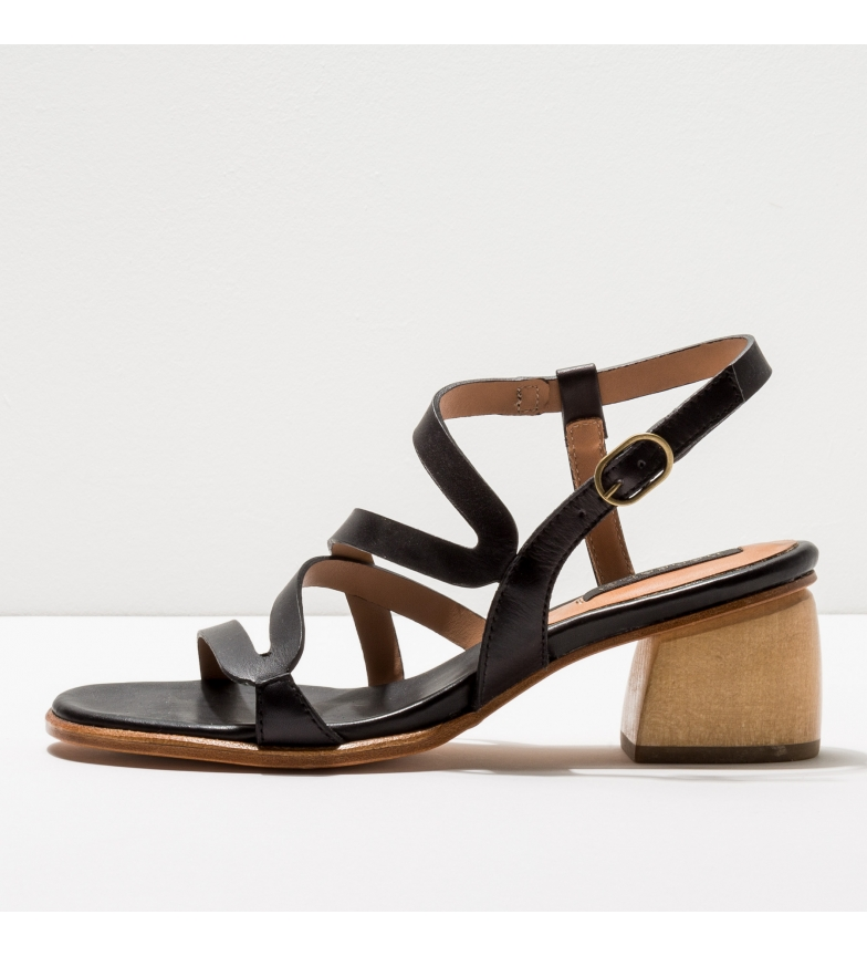 Comprar NEOSENS Sandales en cuir S3143 Verdiso noir -Hauteur du talon : 5cm