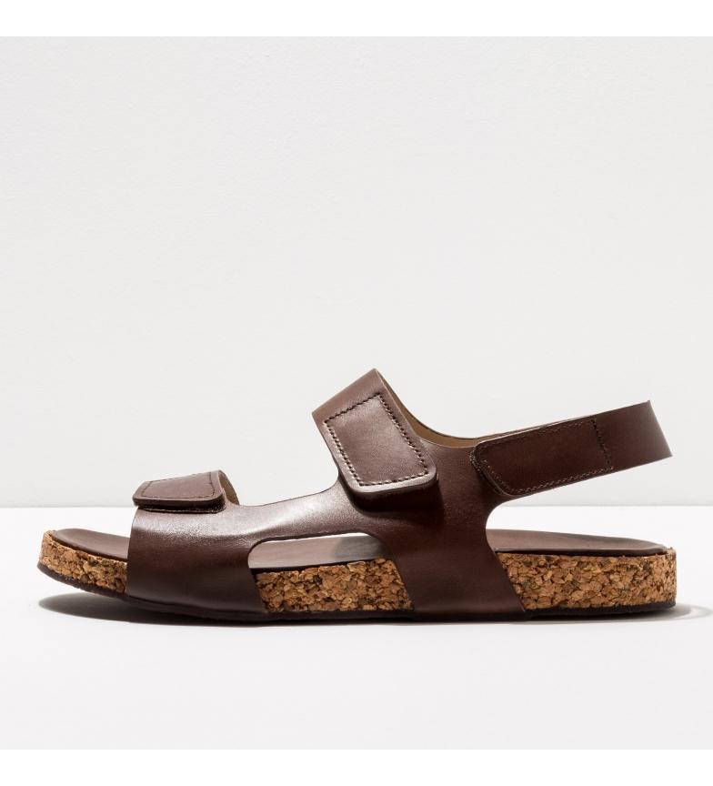 Comprar NEOSENS Sandálias de couro castanho S3190 Rondo